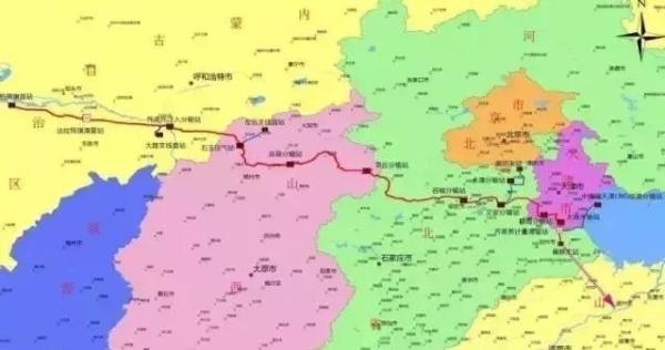 廊坊支线,天津lng联络线,二期建设山西大同-河北容城干线,左云注入图片