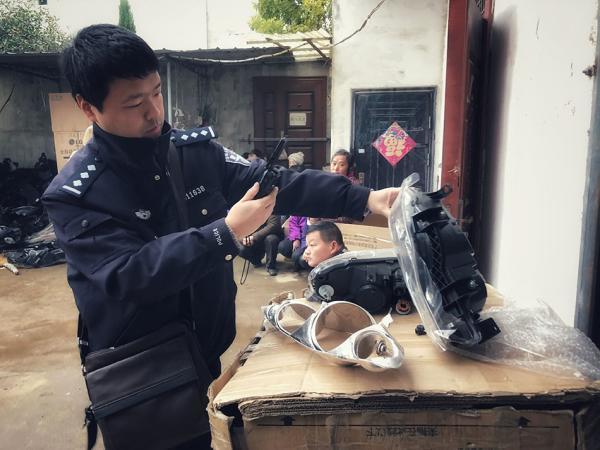 武汉警方破获最大制售假冒汽配案,查获假冒大