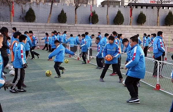 教育部:到2025年要再创建3万所校园足球特色学校