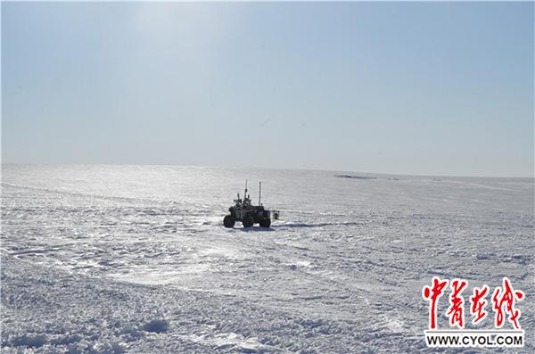 中国地面机器人首次投入极地探路应用,系中科