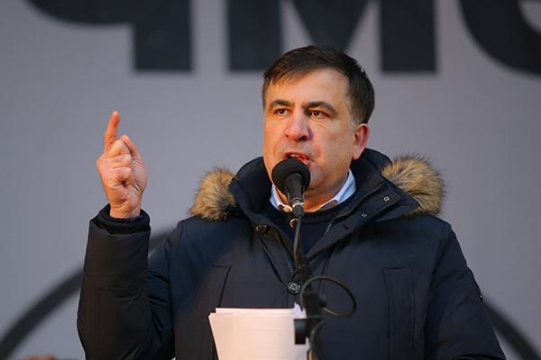 乌克兰:格鲁吉亚前总统萨卡什维利非法逗留,