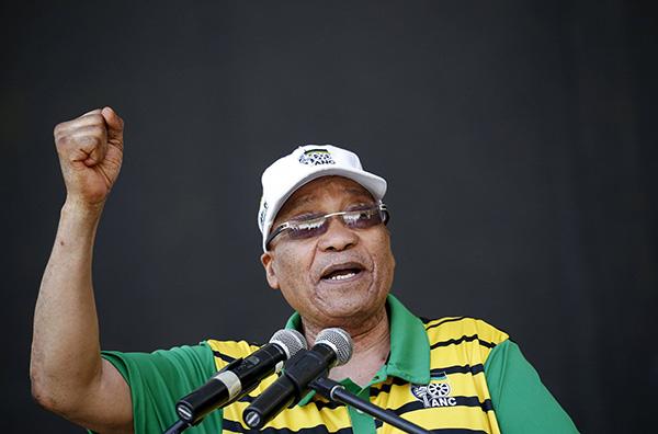 """外媒:南非执政党已决定""""罢免""""现任总统祖马"""