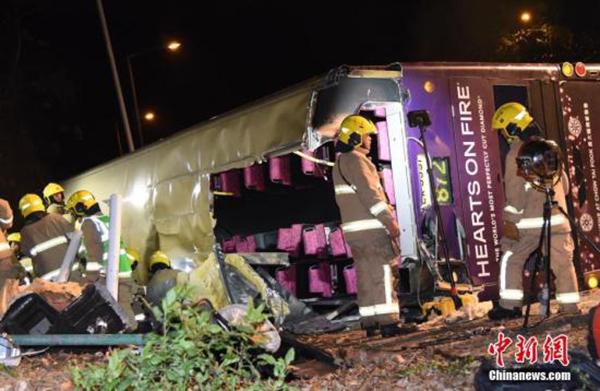 香港巴士侧翻事故司机提堂,控方不排除改控更重罪名