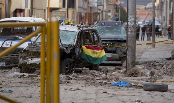 玻利维亚狂欢节再次发生爆炸,4人丧生10余人受