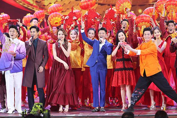 2018年央视春晚陪伴如约,喜庆团圆中唱响新时代图片