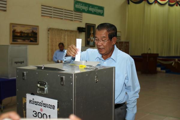 发源统计示意人民党赢得柬埔寨参议院推选