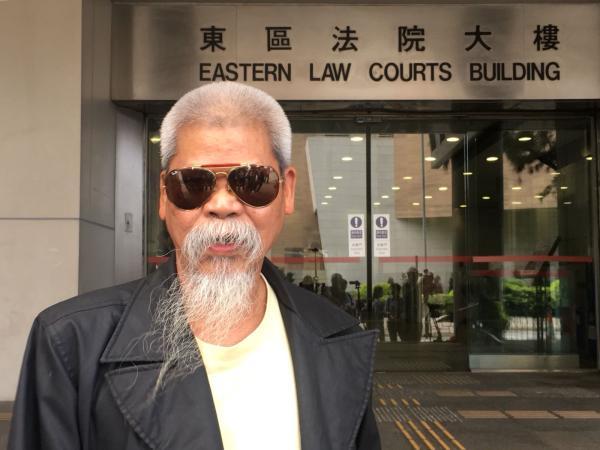 香港反对派成员古思尧 环球网