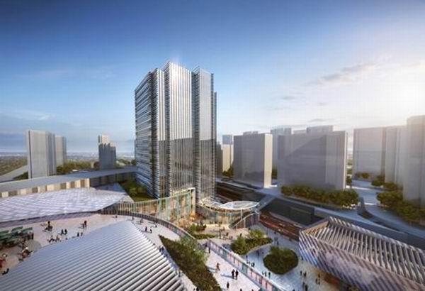 虹桥万科广场即将揭幕,开启天空之城理想生活