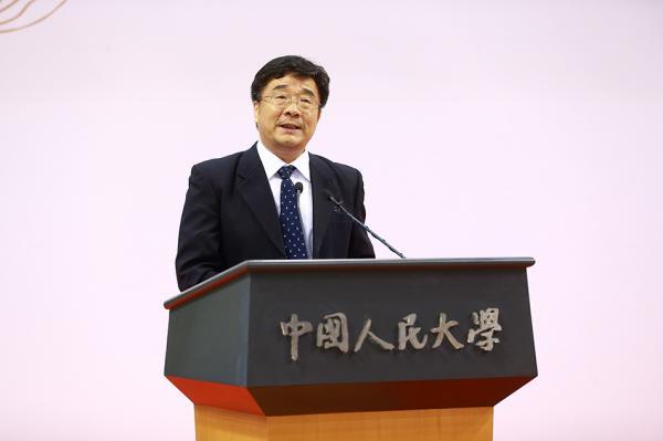 中国人民大学校长刘伟送给毕业生六个字:学好