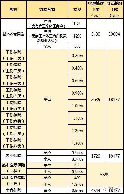 深圳社保缴费个人部分缴费比例及基数  深圳本地宝