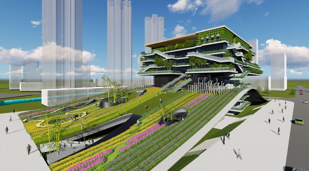 """直击园区,""""未来之城""""正在崛起! 新川创新科技园.图片"""