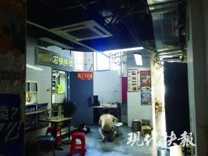 南京这栋外卖楼每天喂饱一万人:厨房挨在一起,卫生状况堪忧